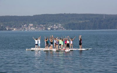 Paddle Board Yoga – the new trend