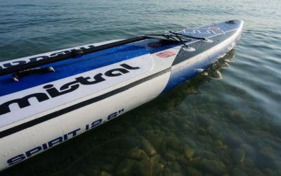 Mistral Spirit 12'6″ review – Touring Race paddle board