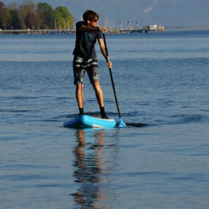 Paddle Board riding technique for beginners